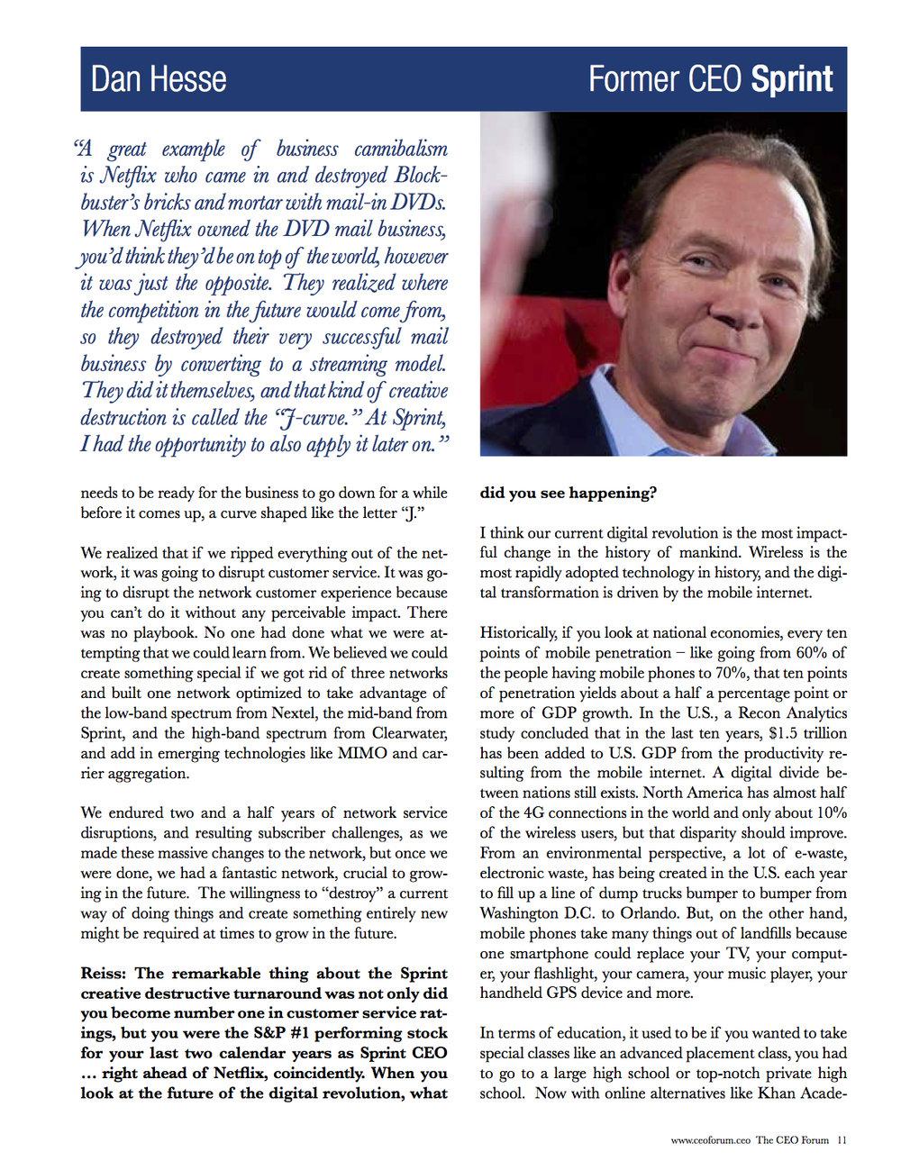 Dan Hesse - CEO Magazine April 2017 Page 5