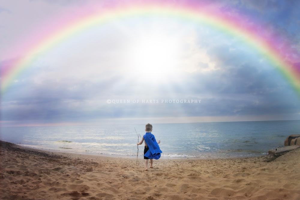 rainbow overlay