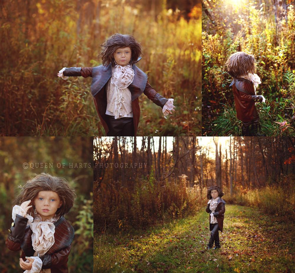 Rumplestiltskin kid costume