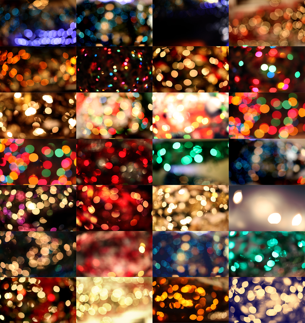 bokeh overlays lights