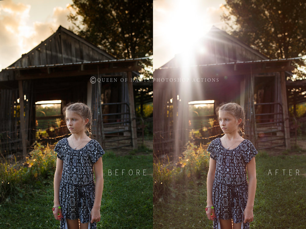 light flare overlays
