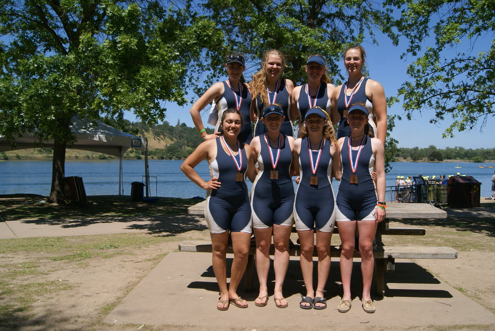 1st Novice 8+ takes bronze at wira 2017
