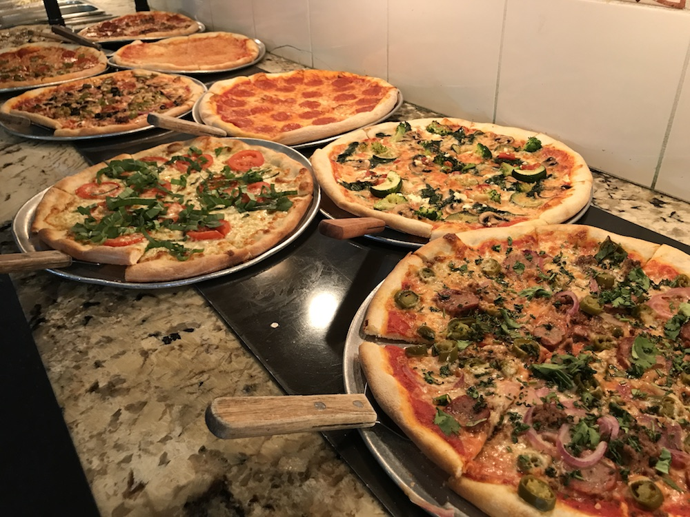 best pizza lunch buffet houston