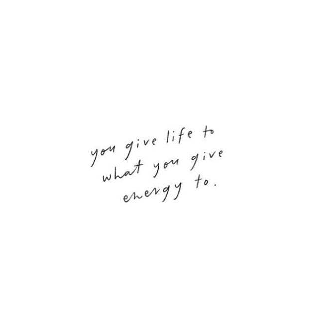 Words to keep in mind when thinking of this week's goals. ✨