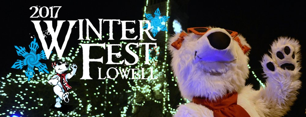 Click here and visit the official Winterfest webpage at LowellWinterfest.com
