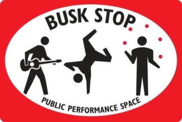 Busker Signage