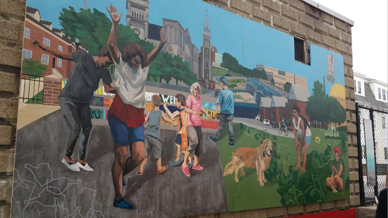 New Mural Decatur Way (2018)
