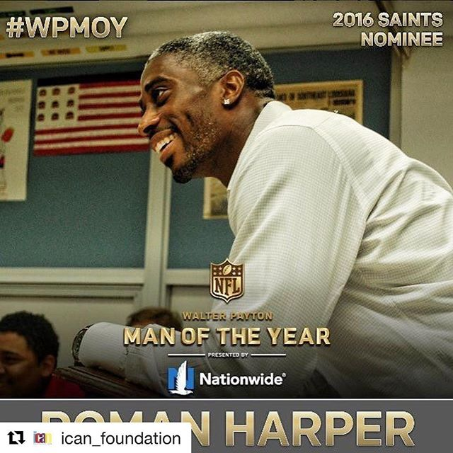 #Repost @ican_foundation with @repostapp ・・・ Help @harpershope41 win $25,000 for their foundation! Share this and tag #HarperWPMOYChallenge to cast your vote! Teamwork makes the dream work.  #wpmoy  #HarperWPMOYChallenge #HarperWPMOYChallenge #HarperWPMOYChallenge