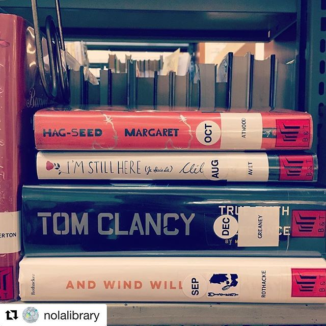 #Repost @nolalibrary with @repostapp ・・・ Is one of your New Year's resolutions to read more? Post a photo of a book that you're reading this January and include the hashtag #ReadersUnite to see what other readers are reading!