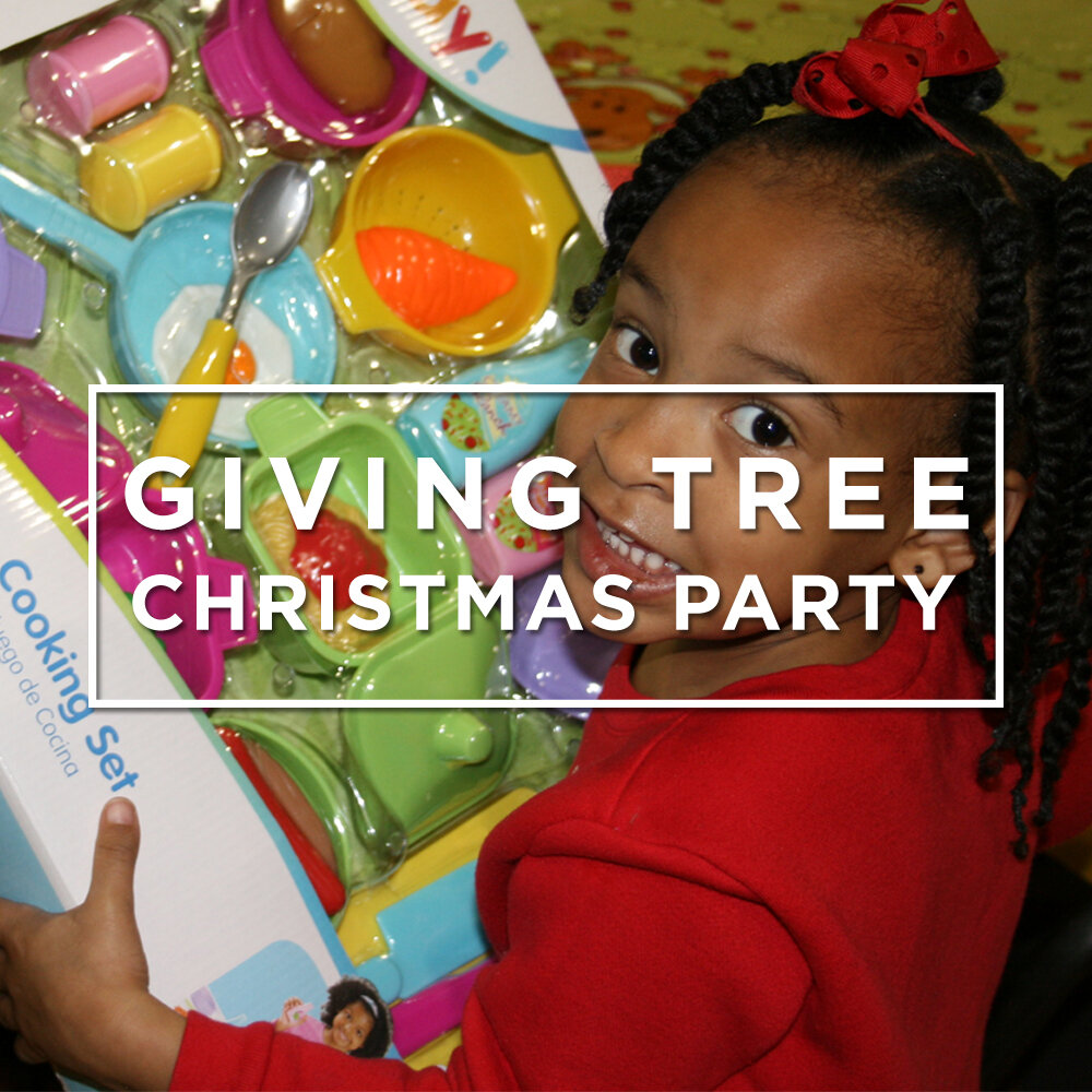 Giving Tree Christmas Party