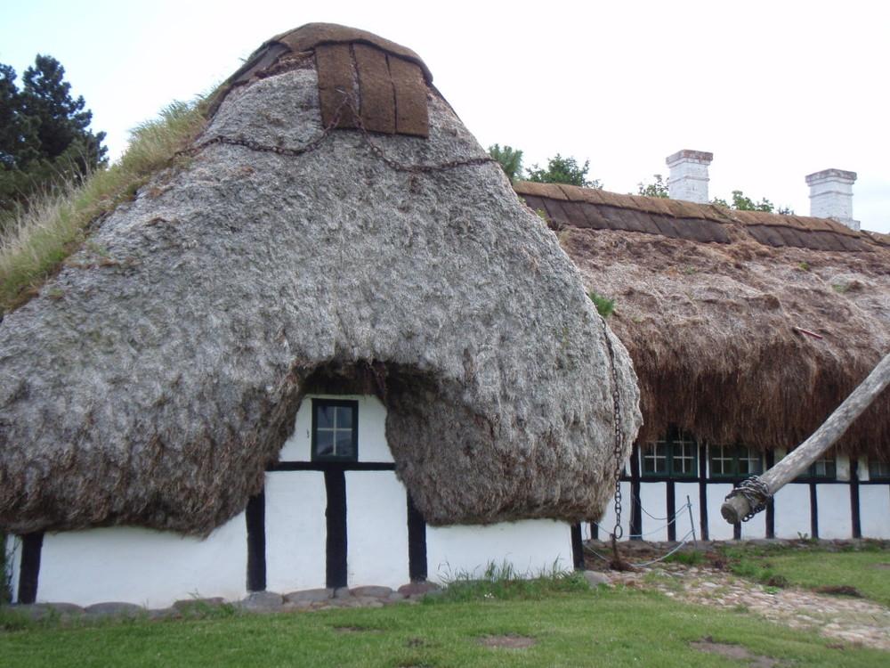 Esempio di edificio tradizionale dell'isola di  Læsø