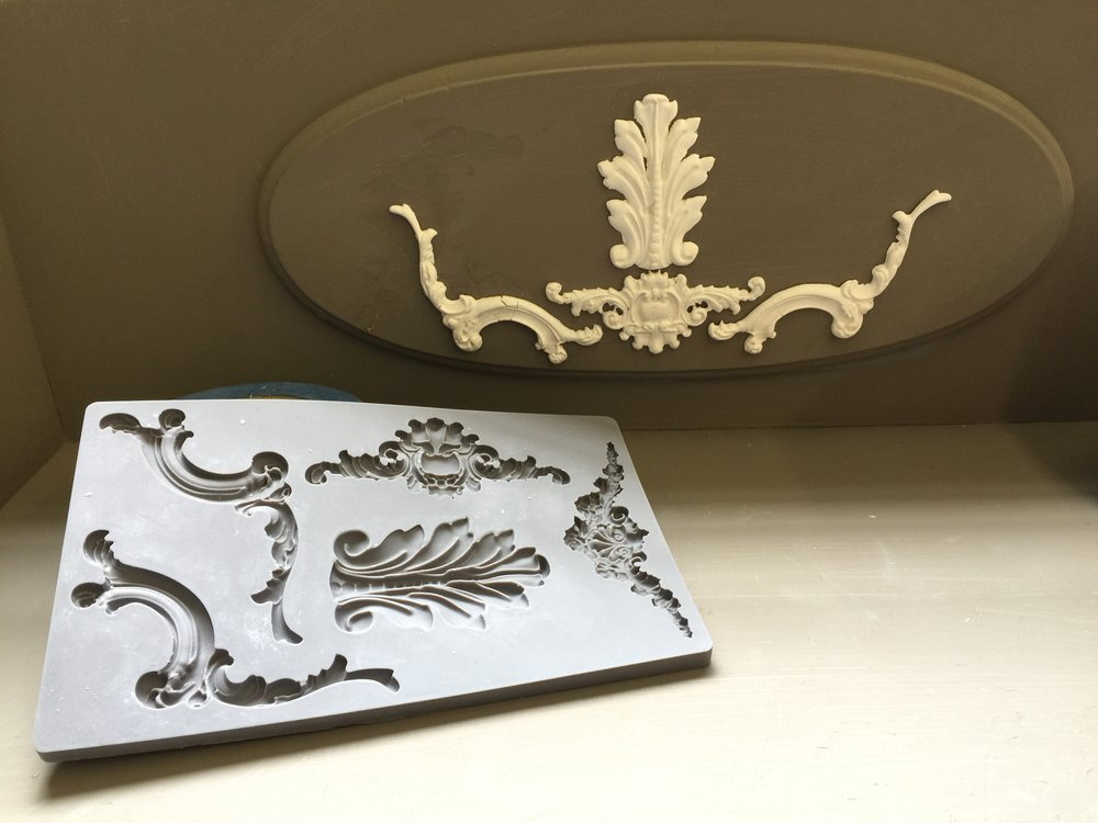 Added accents from Iron Orchid Designs Moulds IOD