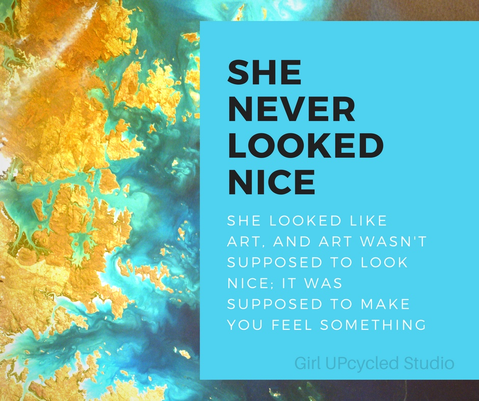 when you create - Does it make you feel something? It should!
