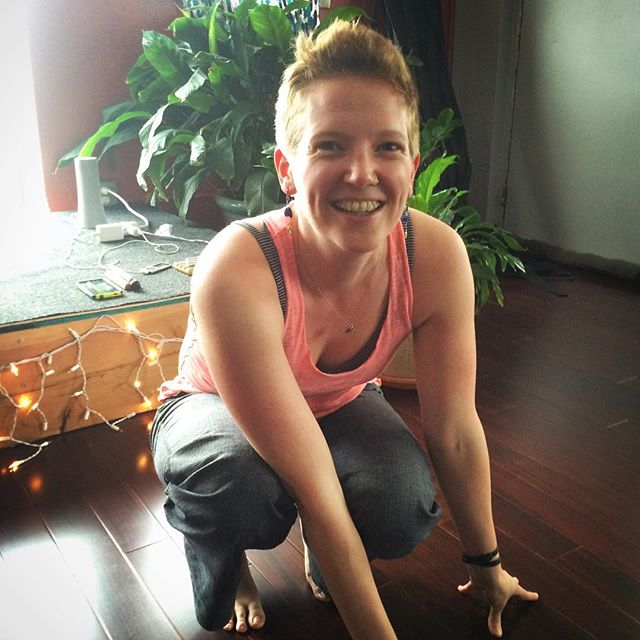 Finally able to see Caitlin! Take class on Monday and you're sure to have a special experience. #Detroit #yogaindetroit #beniceyoga #michiganyogi