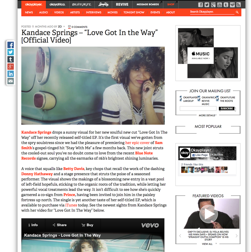press julie vastola okayplayer com news kandace springs