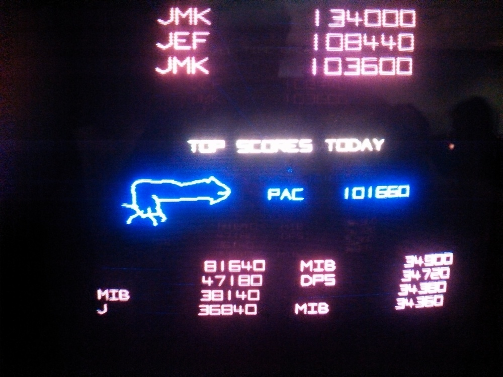 Jordan's infamous PAC Dick at CAX.