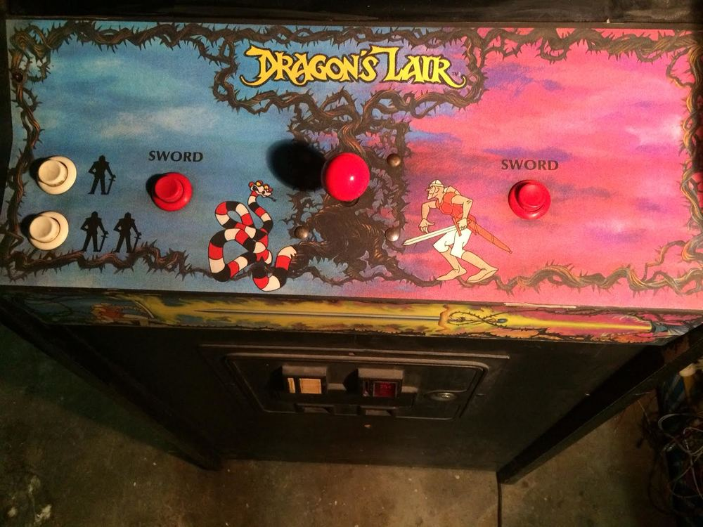 Brandon's Dragon's Lair CPO, after a quick douche of Magic Eraser w/ IPA. You don't really need a new inferior repro CPO now do you?