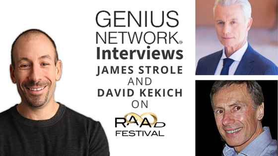 Genius Network James Strole David Kekich RAAD Fest