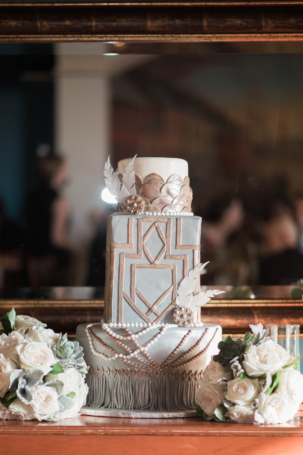 Wedding Cake | Maryland, Washington DC, Pennsylvania, Virginia Wedding Photographer | Anne Casey Photography