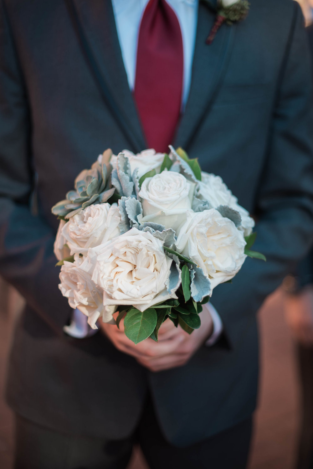 Groom Bouquet | Maryland, Washington DC, Pennsylvania, Virginia Wedding Photographer | Anne Casey Photography