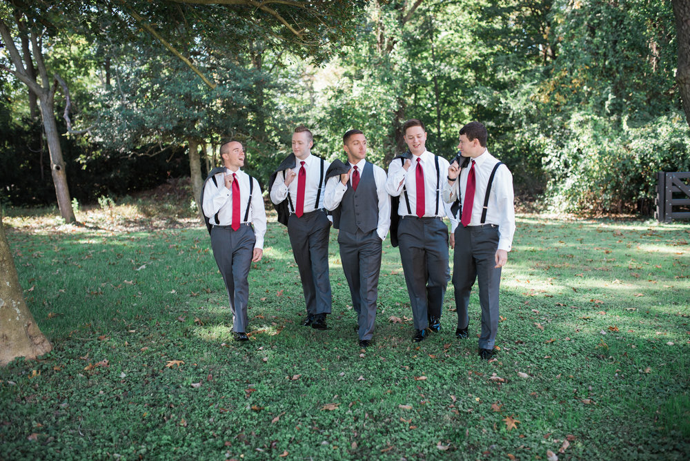 Groomsmen | Maryland, Washington DC, Pennsylvania, Virginia Wedding Photographer | Anne Casey Photography