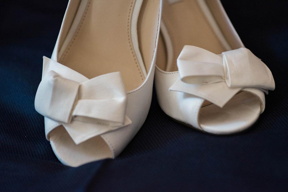 Wedding Shoes | Maryland, Washington DC, Pennsylvania, Virginia Wedding Photographer | Anne Casey Photography