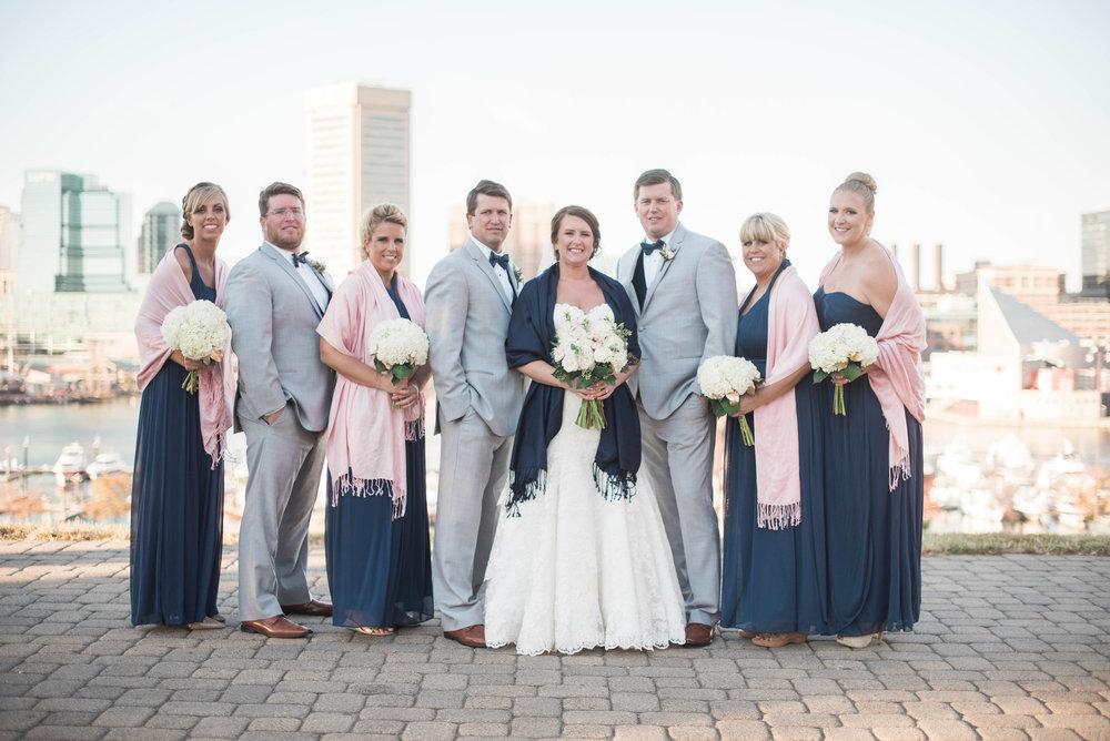 Bridal Party | Maryland, Washington DC, Pennsylvania, Virginia Wedding Photographer | Anne Casey Photography