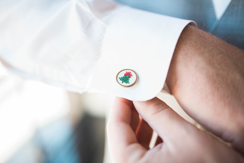 Cufflinks | Maryland, Washington DC, Pennsylvania, Virginia Wedding Photographer | Anne Casey Photography