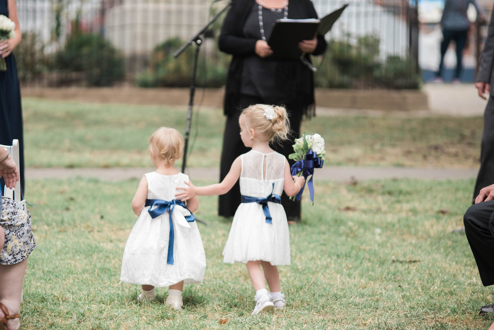 Flower Girls | Maryland, Washington DC, Pennsylvania, Virginia Wedding Photographer | Anne Casey Photography