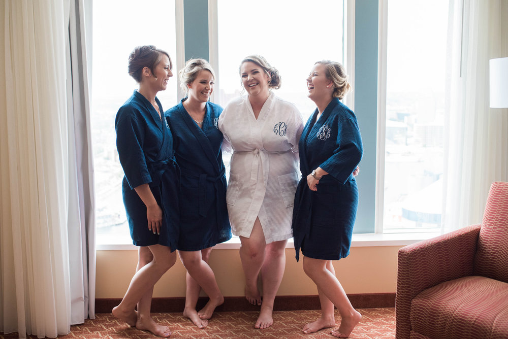 Bride and Bridesmaids | Maryland, Washington DC, Pennsylvania, Virginia Wedding Photographer | Anne Casey Photography