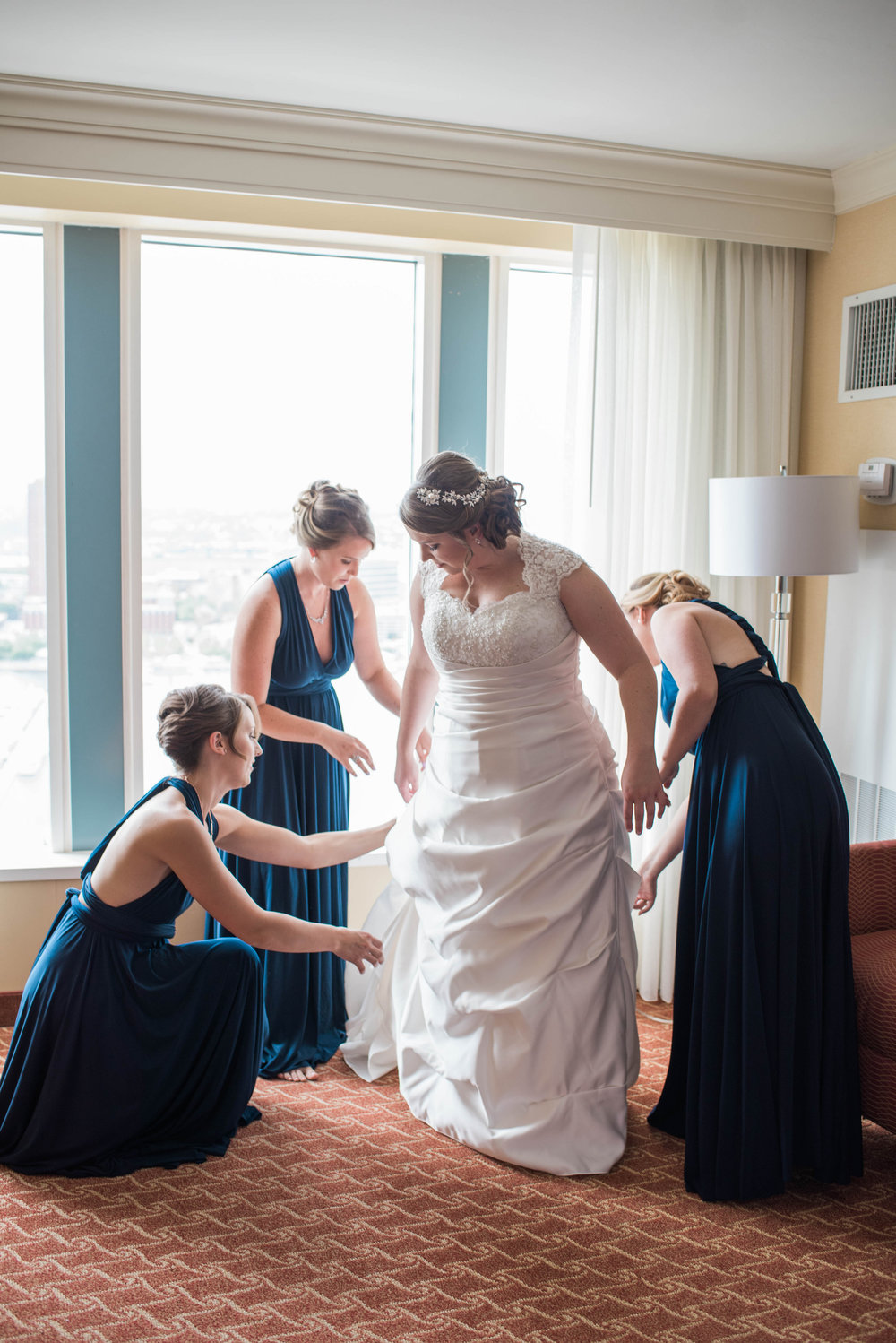 Getting Ready | Maryland, Washington DC, Pennsylvania, Virginia Wedding Photographer | Anne Casey Photography