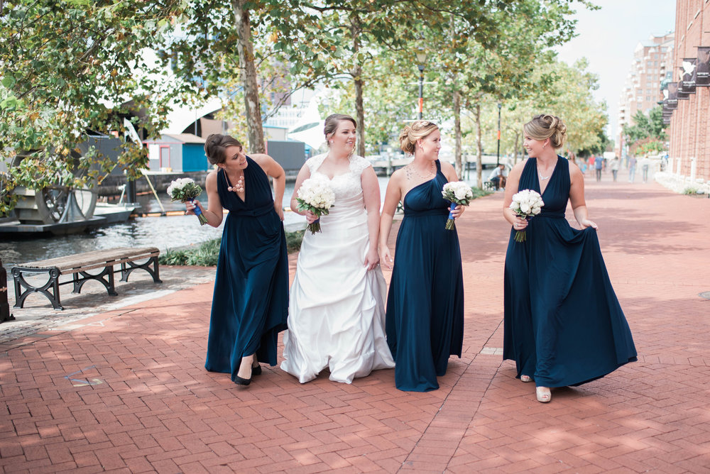 Bridesmaids and Bride | | Maryland, Washington DC, Pennsylvania, Virginia Wedding Photographer | Anne Casey Photography