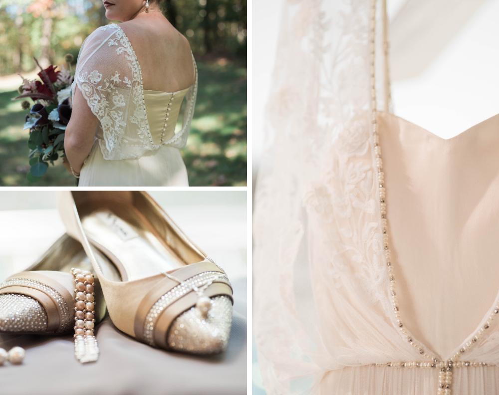 Caitlyn and Shaun | 1840s Ballroom Roaring 20s Wedding | Maryland ...