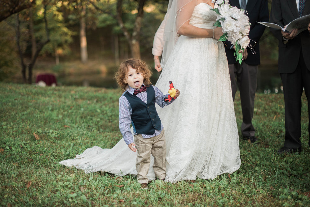 Padonia Park Club Wedding Ring Bearer