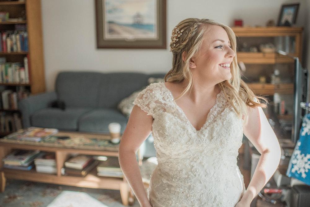 Saint Marys  Church Wedding Bride Getting Ready