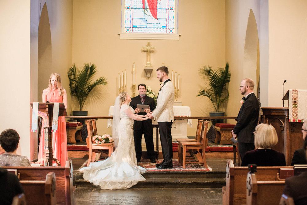 Saint Marys  Church Wedding Ceremony