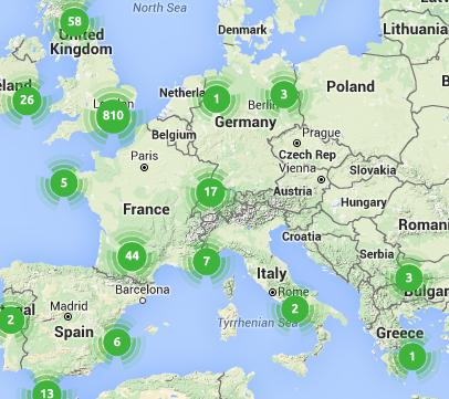 Trustedhousesitter listings in Europe!