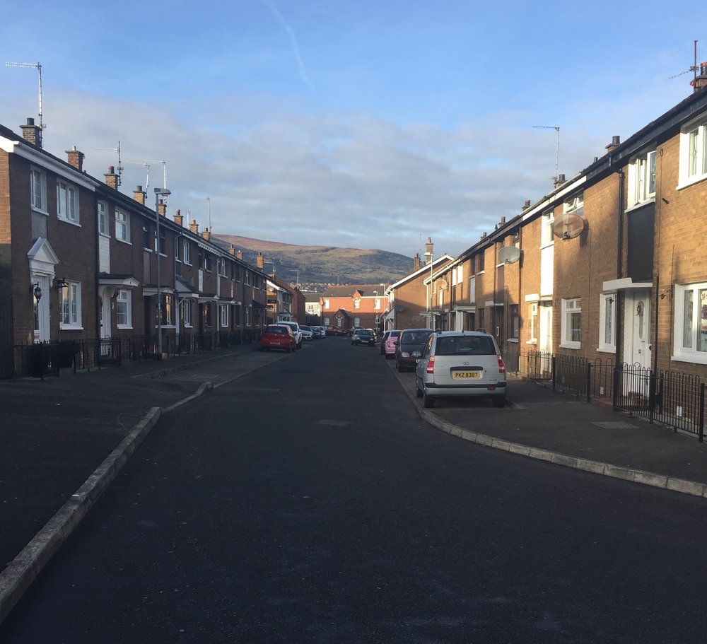 Architecture in Belfast - how people live