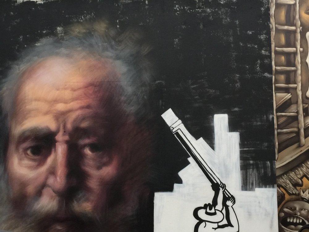 Street Art Belfast Trompe-l'œil