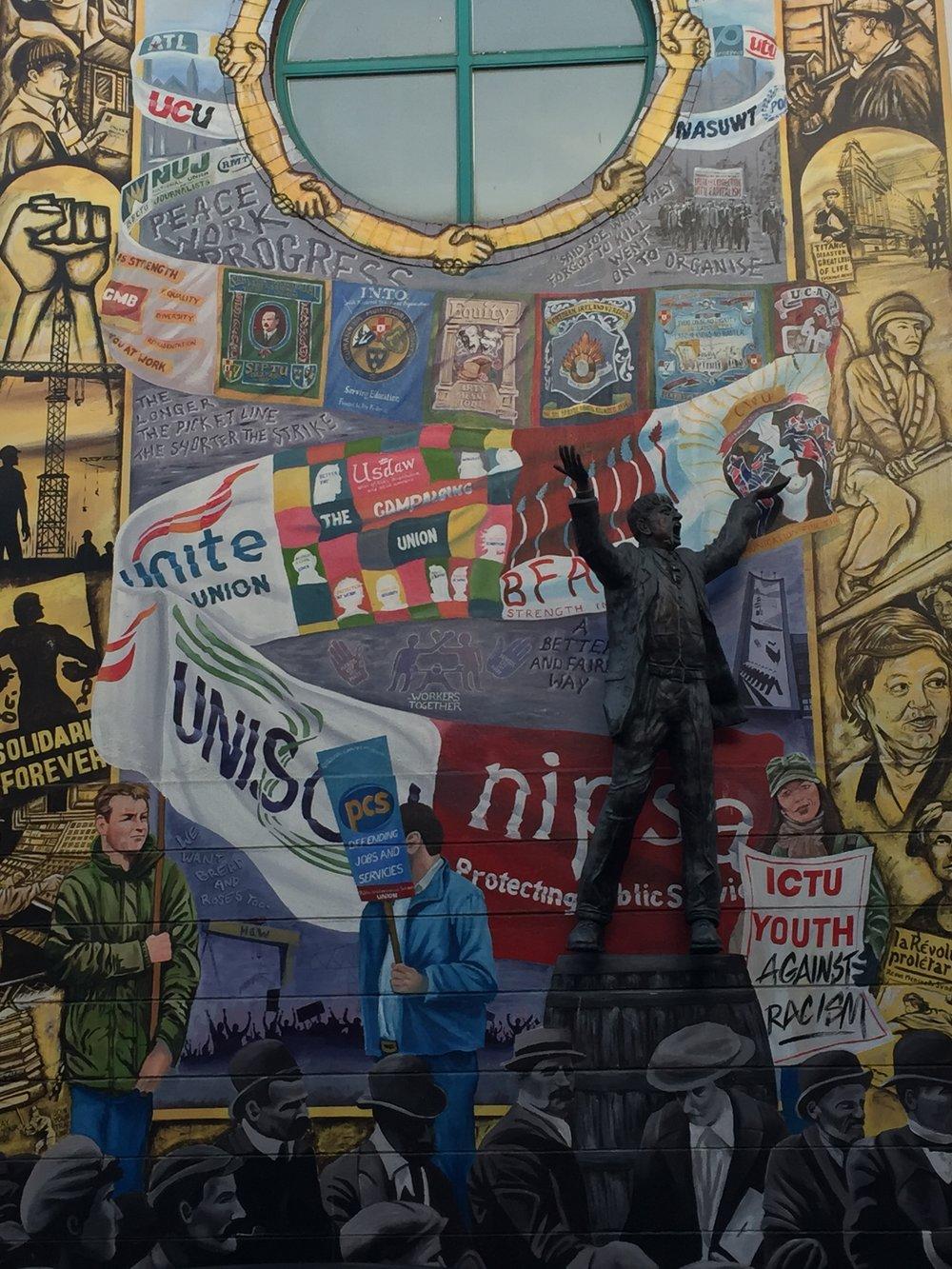 Political Street Art Belfast