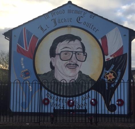 Street Art Belfast Political Troubles