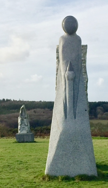 Valley of the Saints Brittany Faceless Woman w/Goose