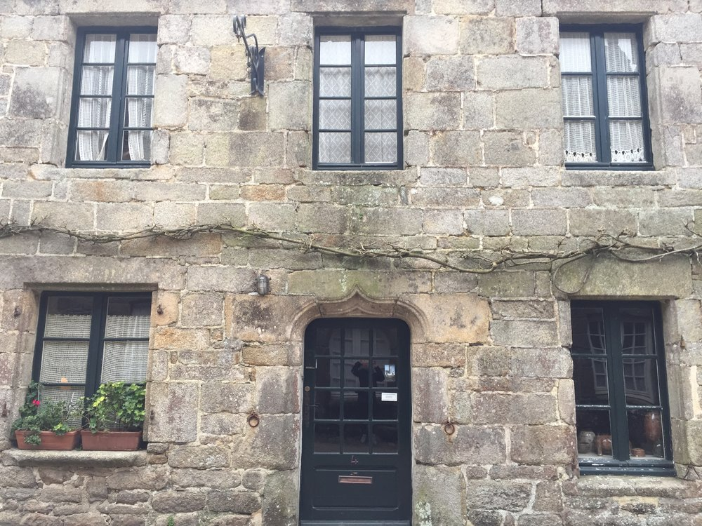 Architecture in Locronan France