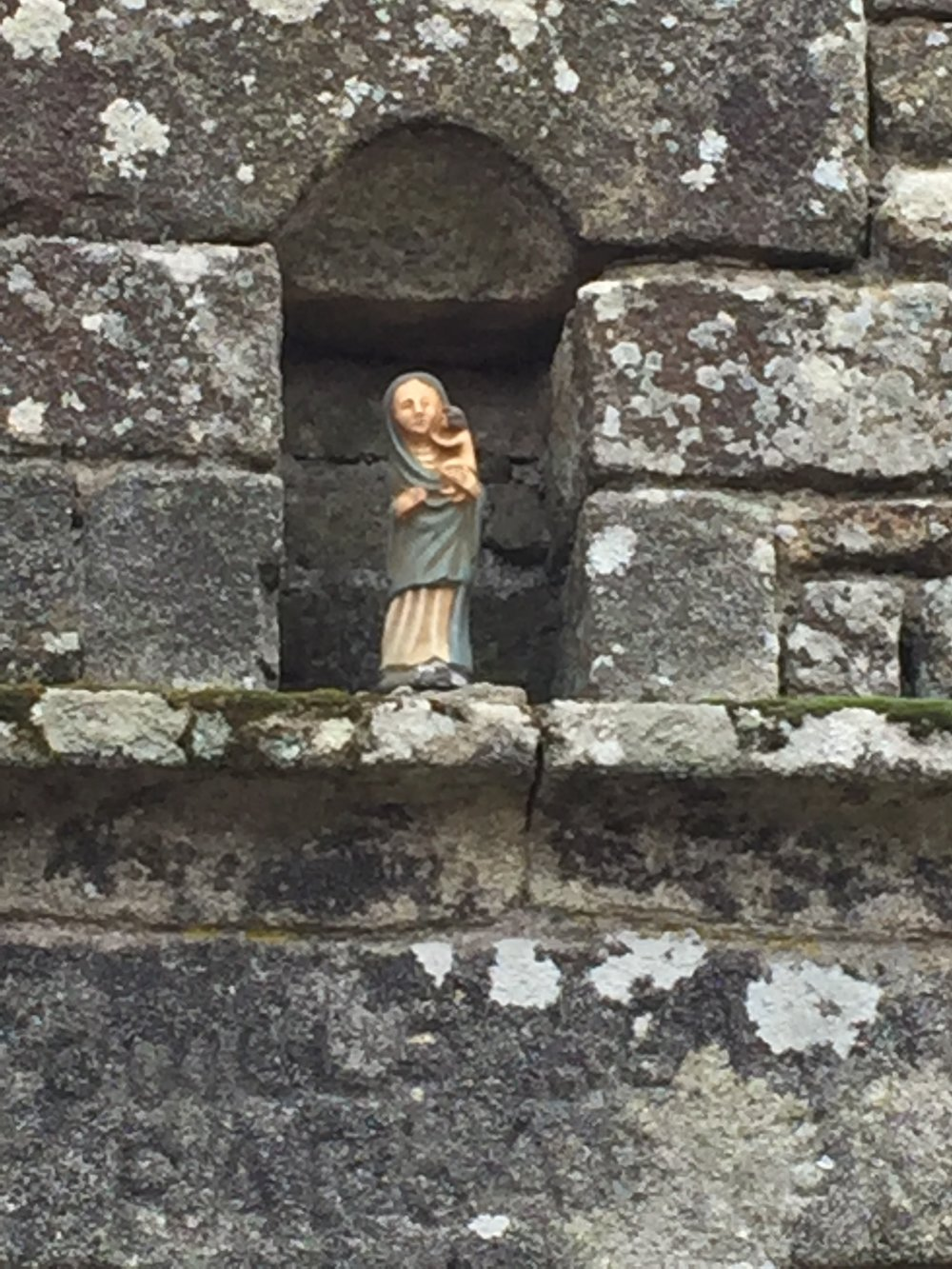 Figurines of Locronan France