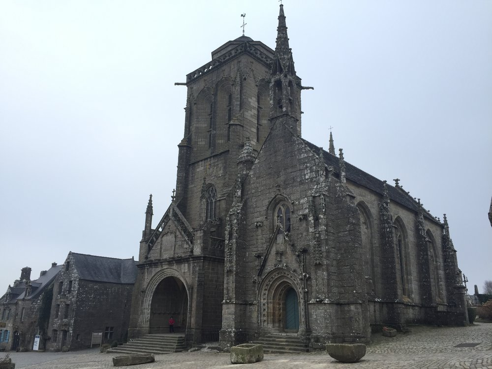 Church of Locronan France