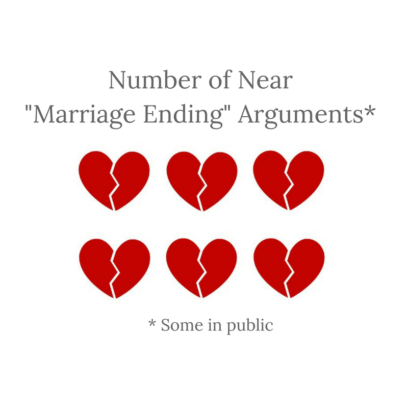 Near Marriage Ending Arguments
