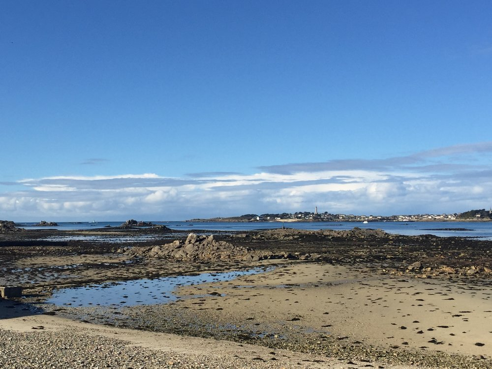 Views across the water after the rain - Roscoff