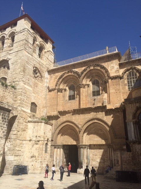 Immovable Ladder at Church of the Holy Sepulcher