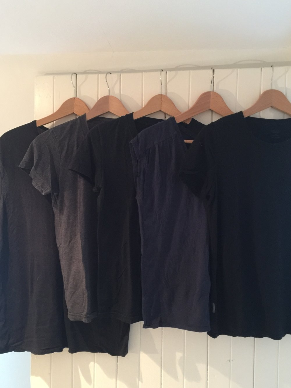Travel Essentials - 5 Short Sleeve T's