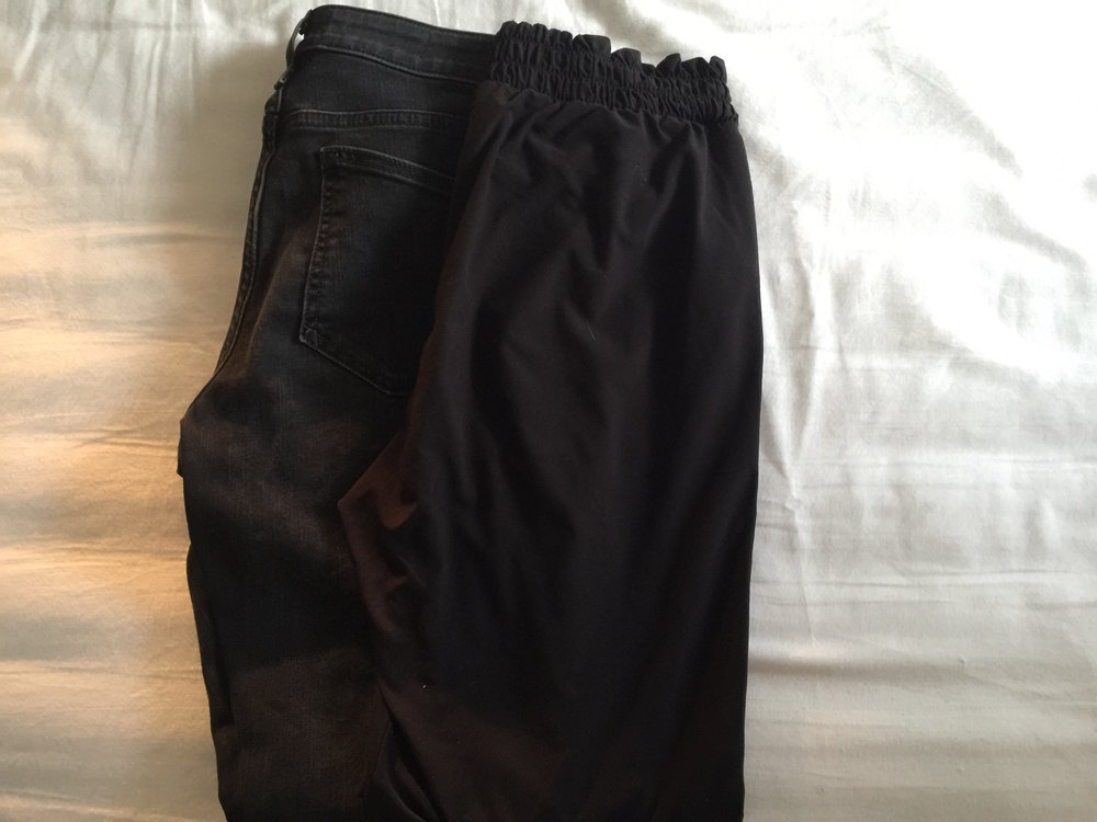Travel Essentials - 2 pairs trousers
